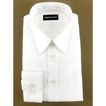 【お試し5枚セット】無地 Yシャツ ホワイト